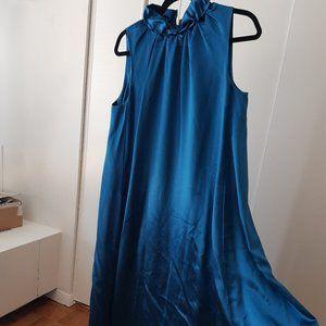 Gorgeous A-line satin party dress